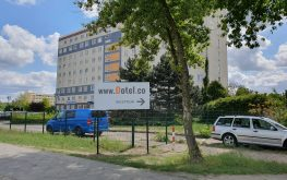 Hotel with parking