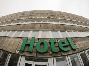 Hotel near Berlin Spandau district